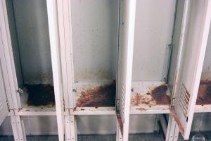Locker corrosion
