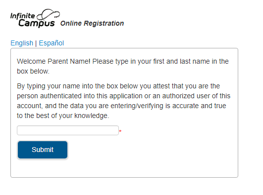 OLR Type Your Name as Signature