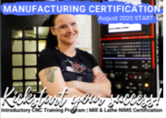 Kickstart Manufacturing website