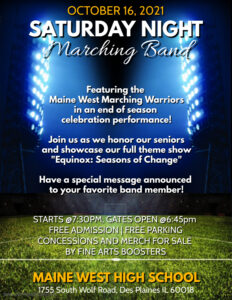Marching Band Oct 16 Flyer (2)